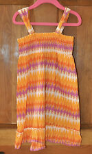 Girl's Top Size 8 Orange, Purple & White Perfect for Summer