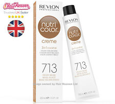 Revlon Professional Nutri Color Creme 713 Frosty Beige 100ml TUBE 3 in 1 Colour