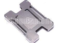 EDC Gear Titanium Ti TC4 Ti6AI4V Titanium Wallet Card Holder Slim Money Clip