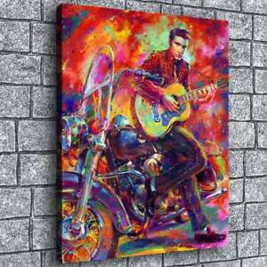 Elvis Presley Poster Painting HD Print Canvas Home Decor Room Wall Art Picture
