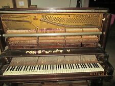 1901 Story & Clark Pianos Must See All Original Memphis Tennessee Wow !