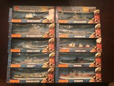 matchbox sea kings - complete set in boxes