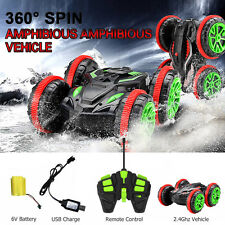 Electric Amphibious RC Car Land Water Remote Control 2.4G Car Off Road Toy Gift