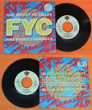 LP 45 7'' FYC FINE YOUNG CANNIBALS She drives me crazy Pull no cd mc dvd vhs*