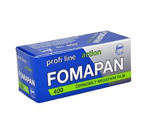 Fomapan 400 Black & White 120 Roll Film