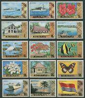 KIRIBATI: DEFINITIVES - MNH SET OF FIFTEEN (GO231-PB)