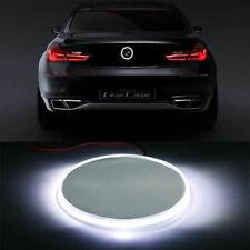 2* White 82mm Xenon Emblem LED Background Light For BMW 1 3 5 7 Series X3 X5 X6