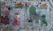 Hot Toys Toy Story Figures - Evil Dr. Porkchop & Rex