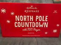 Hallmark North Pole Countdown to Christmas with MP3 Player NEW Keepsake Ornament