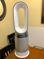 Dyson HP04 Pure Hot + HEPA Air Purifier - White/Silver - Brand New
