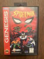 Spider-Man Complete Sega Genesis SpiderMan Original Game And Box Only!
