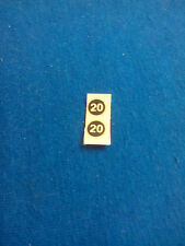 (Tr 119) DINKY TOYS 216 FERRARI DINO decalcomanie transfer N° 20