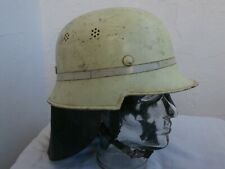 Feuerwehrhelm alte Art vintage german firefighter helmet