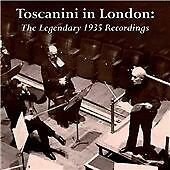 "CD x 4 BOX SET WHRA-6046 ""Toscanini At The Queen's Hall"" June 1935 BBC Symphony"