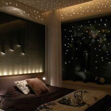 407PCS Glow In The Dark Star Round Dot Luminous Wall Stickers Kids Room Decor RY