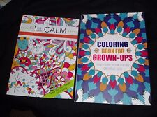 COLORING BOOKS FOR GROWN UPS - COLOR FOR CALM - PLUS FREE COLOR PENCILS (10 CT)