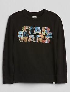 Gap Kids Boys Sweatshirt Star Wars Color Black Size XL New