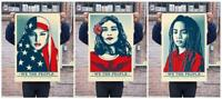 Shepard Fairey - We The People 5 Large Posters 24 x 36 - GREATER OBEY BANKSY