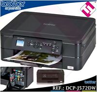 IMPRESORA MULTIFUNCION COLOR BROTHER DCP J572DW WIFI DUPLEX TINTAS ECONOMICAS
