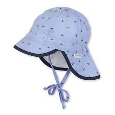 Baumwolle Sterntaler Baby Jungen Schirmmütze Gr.39-51 Nackenschutz UV Schutz 50