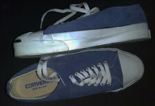 CONVERSE JACK PURCELL 14253  9M MADE IN USA PERIWINKLE BLUE SUEDE 1980s