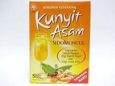 5X 25 gr Sido Muncul Turmeric Acid Jamu Natural Extract Powder Juice Kunyit Asam