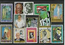 Valores Mundiales Arte Pintura Picasso (ED-588)