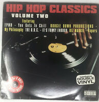 Hip Hop Classics Vol. 2 LP Vinyl Record Double Album Original Rap Compilation