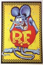 RAT ROD HOT ROD STICKER  RAT FINK