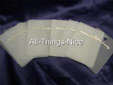 Jewellery Fashion EARRINGS Plastic Hanger Gift Card Display WHOLESALE Joblot 100