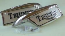 Triumph 500cc/650cc Tank Badges - 82-9700 82-9701
