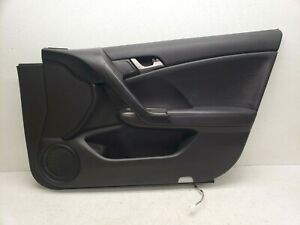 2009-2014 ACURA TSX FRONT RIGHT PASSENGER SIDE INTERIOR DOOR PANEL 493 OEM