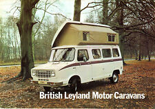 Leyland Sherpa Pioneer Buccaneer Caravan Mid 1970s UK Market Foldout Brochure