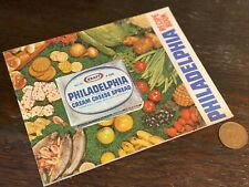 More details for 1960s vintage retro philadelphia cheese recipe book - illustrated colour picture