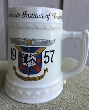 "MIT Mug Stein 1957Massachusetts Institute of Technology By Nassau ""Harry"" 18 oz"