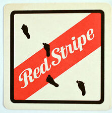 Beer Coaster Red Stripe