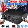 110V 2000W 325BT bluetooth Power Amplifier 2 Ch AMP EQ Home Stereo SD FM USB US
