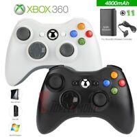 Wireless Game Controller Gamepad For PC Win 10/8/7/XP/Vista Microsoft XBox 360