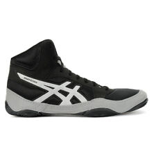 ASICS Men's Snapdown 2 Black/Silver Wrestling Shoes J703Y.001 NEW