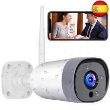 Cámara de Vigilancia WiFi Exterior, IP66 a Prueba de Agua y Polvo,Cámara de S