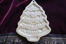 """Brown Bag Cookie Chocolate 1986 Christmas Tree Mold Sz 6.5"""" x 5"""" RARE & NEW"""