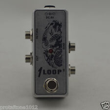 True Bypass AB Looper Pedal, Guitar Effect Pedal Looper Switch Mini AB Box Loop
