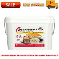 Augason Farms 48-Hour 4-Person Emergency Food Supply, Long-Term Food Storage