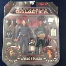 Apollo Dualla 2 Pack Battlestar Galactica BSG Diamond Select Cylon Action Figure