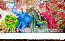 MISTERWIVES Our Own House Ltd Ed Discontinued RARE Poster +FREE Indie Poster!