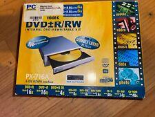 OVP DVD CD BRENNER Player Internes Laufwerk PLEXTOR PX-716A wie NEU  NP 119 Euro