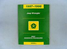 Body Diag. Proced., Airbag/Gauges/Comm., 97-98 Jeep Wrangler (TJ), 81-699-97016