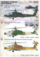 Print Scale Decals 1/72 Mcdonnell Douglas Ah-64 Apache Attack Helicopter