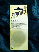 OLFA Genuine Quality 45mm Rotary Cutter Blades 5 Pack