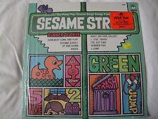 THE PETER PAN CHORUS SINGS SONGS FROM SESAME STREET VINYL LP RUBBER DUCKIE EX